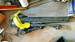 RYOBI 2400W FIXED-TUBE 240V ELECTRIC PLUG-IN BLOWER VACUUM VERY POWERFUL
