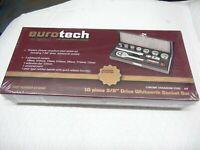 Eurotech ET10540 Tools 10pc 3/8 Drive Whitworth Socket Set Vincent Velocette NEW