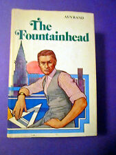 The Fountainhead by Ayn Rand VINTAGE 1968 Best Seller Library Edition BCE