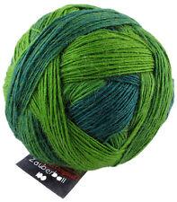 """Zauberball 100 von Schoppel 100g  Farbe 2168 """"Evergreen""""  Wolle"""
