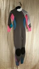 New listing Body Glove Stellar 3/2 Back Zip Women's Wetsuit Jet/Pink Size 9/10 New