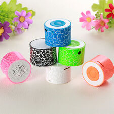 Portable Radio Mini Audio Musik MP3 Player USB Wireless TF AUX Mit LED Licht MP3