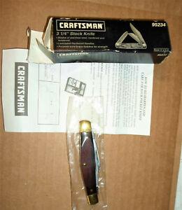 VINTAGE CRAFTSMAN #95234 MEDIUM STOCKMAN POCKET KNIFE