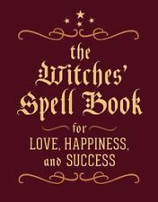 Witches' Spell Book, Hardcover by Greenleaf, Cerridwen, Brand New, Free P&P i...