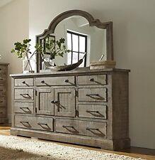 Progressive Furniture P632-24 Door Dresser - Weathered Gray NEW