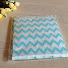 24x blue gift bags events wedding birthday party favour baby shower lolly bags
