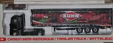 Universal 1/50 Scale Renault Magnum W/ Kuhn Tractor Trailer 5689