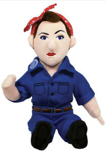 Rosie the Riveter Soft Toy - 11 Inch Plush Little Thinkers Doll New w/Tag