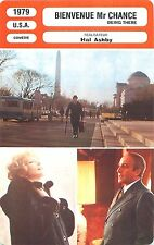 FICHE CINEMA FILM USA BIENVENUE Mr CHANCE / BEING THERE Réalisateur Hal Ashby