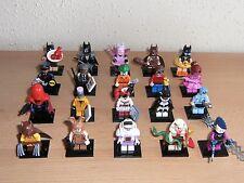 LEGO® Minifiguren 71017 BATMAN MOVIE  Komplettsatz aller 20 Figuren - Limitiert!