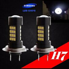 H7 Samsung LED Chip 42 SMD Xenon White 6000K Lamp Light Bulb For YAMAHA Bike