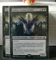 1x KALITAS, TRAITOR OF GHET (Oath of the Gatewatch) NM / English Magic MTG