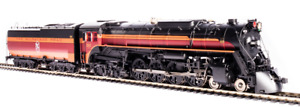 BROADWAY LIMITED 6496 HO MILWAUKEE ROAD S3 4-8-4 RD# 261 PARAGON 4 DCC & SOUND