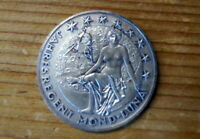 alte Bronze Medaille Österreich Bodlak Kalendermedaille 1978 Jahresregent Mond
