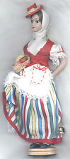 Plastic COSTUME DOLL by 'BEIBI' Made in Spain VGC