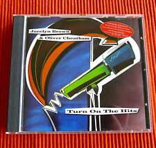 JOCELYN BROWN & OLIVER CHEATHAM - TURN ON THE HITS  Very Rare 1991 Bellaphon CD