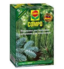 COMPO Conifer slow release fertilizer 1kg, NPK (Mg) 15,5-6-13,5 +micro nutrients