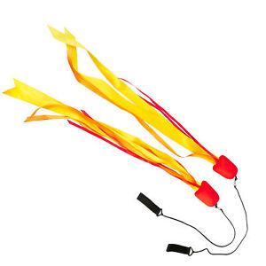 Elemental Ribbon Poi-Fire