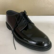Mens Bates High Gloss Patent Leather Uniform Military Dress Shoes Size 13 D
