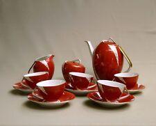 SUPERBE SERVICE A CAFE VINTAGE & DESIGN, PORCELAINE RUSSE, SAINT PETERSBOURG ?