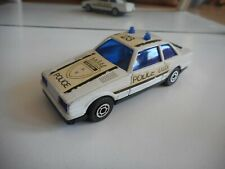 Polistil Super Bank Boston Police Car in White