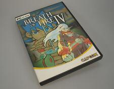 Breath Of Fire IV 4 (PC, 2003, DVD-Box) Multi Language