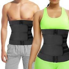 Women Men Waist Trainer Belt Sweat Body Shaper Girdle Slimmer Tummy Control Belt