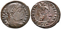 CONSTANTINE THE GREAT (323 AD) Ae3 Follis. Trier #RB 6291