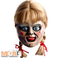 The Conjuring Annabella Mask Adults Fancy Dress Halloween Ladies Mens Costume