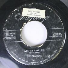 50'S / 60'S 45 The Platters - Winner Take All / (You'Ve Got) The Magic Touch On