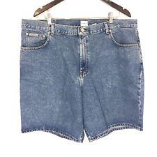 Vintage Calvin Klein Stone Wash Easy Fit Denim Jean Shorts Men's Size 42