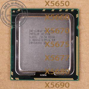 Intel Xeon X5650 X5660 X5670 X5675 X5677 X5680 X5690 LGA1366 Processor