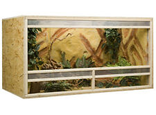 Holz Terrarium 150 x 60 x 60 cm OSB Platte, Frontbelüftung
