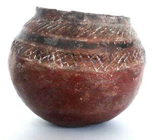 Early Pottery Simple Spherical Pot