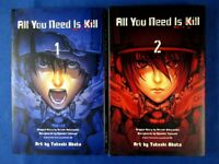 All You Need Is Kill 1-2 Comic Complete set - Obata Takeshi /Japanese Manga Book