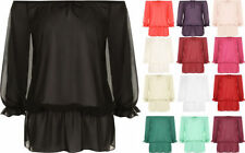 Chiffon Casual Plus Size Tops & Blouses for Women