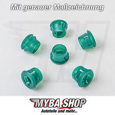 15 x guardabarros sujeción Botones de presión BMW E30 E32 E36 E46 E87 E90 #