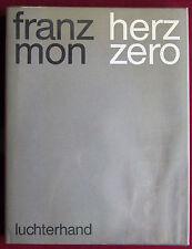 Franz Mon: cuore ZERO. Luchterhand 1968