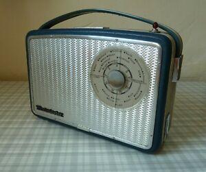 SWINGING SIXTIES 1960s PERDIO WESTMINSTER TRANSISTOR RADIO. EX.CON. & WORKING