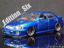 Maisto Custom shop 1:24 Subaru Impreza Wrx S202 Modified Jdm sports car