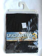 T-Shirt Uncharted 3 L'illusion De Drake / Taille L, Officiel (PS3)