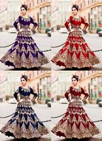 Pakistani Heavy Bridal Collection Lehenga Choli Indian Wedding Wear Lengha 9074