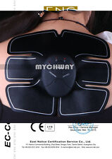 Wireless EMS Muscle Training Body Shape Fit Set ABS Six Pad Fitness Massage Gym