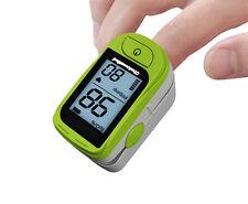 Fingerpulsoximeter Pulsoximeter Finger Puls Oximeter OXIGENO C15D inkl. Zubehör