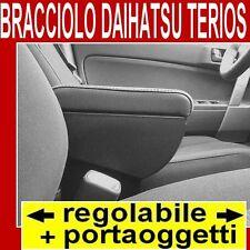 DAIHATSU TERIOS (dal 2006) - bracciolo portaoggetti REGOLABILE per -vedi tappeti