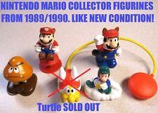Super Mario Bros. 3 Figurines From '89/'90/Nintendo NES/Luigi RaccoonMario Koopa