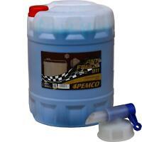 20 L PEMCO Frostschutz ANTIFREEZE 911 Kühlflüssigkeiten blau + Auslaufhahn