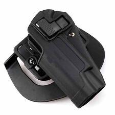 SALE for Colt 1911 Quick Tactical Holster Left Hand Paddle Belt Holster WIS SHIP