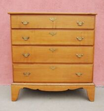 American Maple Chest of Drawers late 18th or early 19th Century