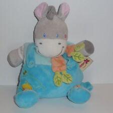 Doudou Girafe Vache Nicotoy - Bleu